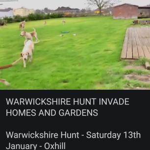warwichshire-hunt-invade-garden