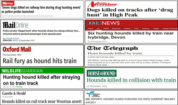 hunts-on-railway-line-headlines