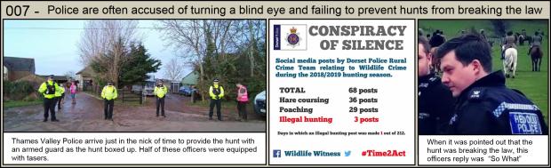 Police turning a blind eye 007