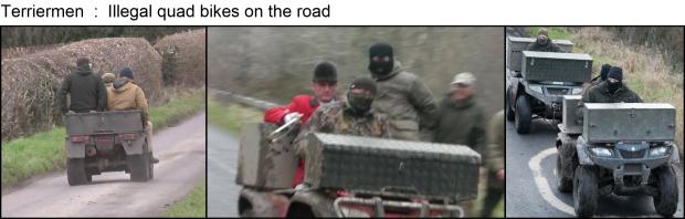 Terriermen - illegal quadbikes