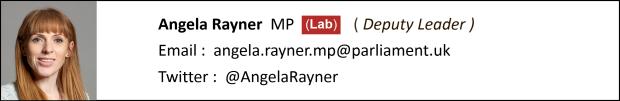 Angela Rayner Contact