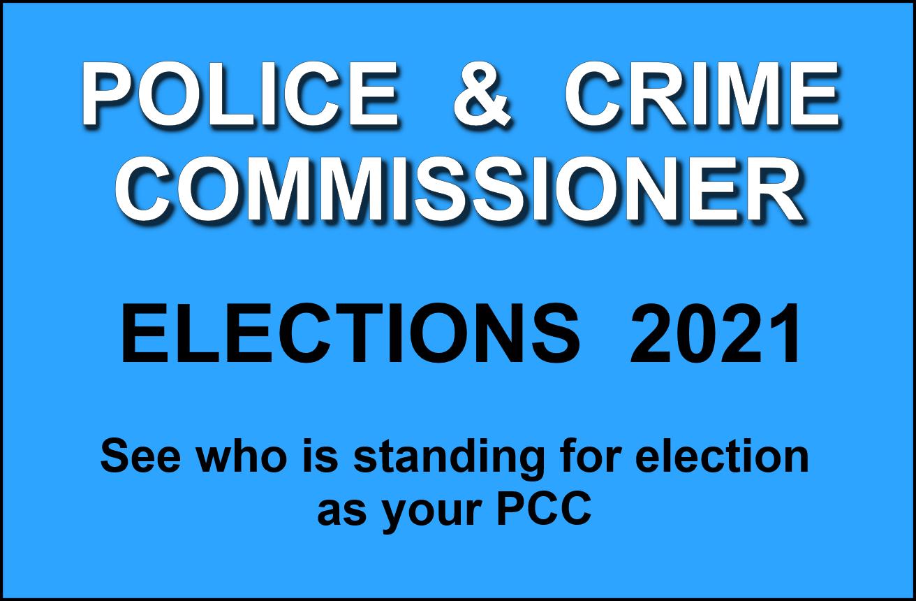 PCC Elections 2021 logo