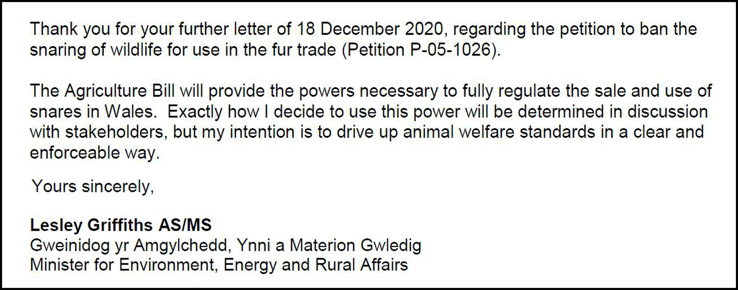 Petitions Committee - Leasley Griffith reply 8832