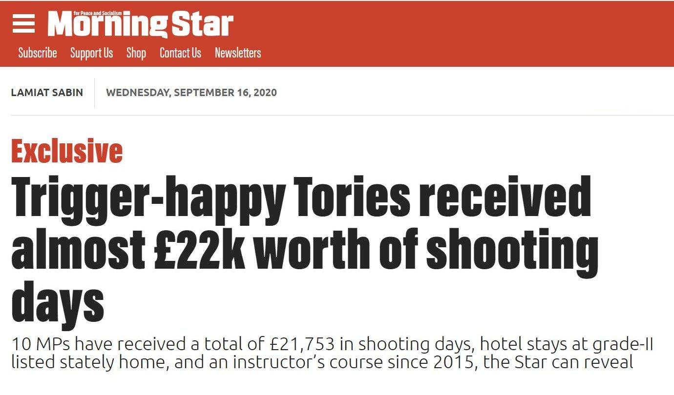 Trigger Happy Tories
